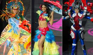 Índia, robô, diabinha: veja o desfile de trajes típicos do Miss Universo
