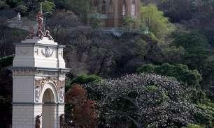 Com biblioteca, café e jardins, parque é destaque em Caracas