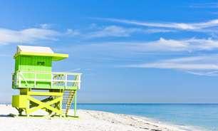 Metrópole, Miami tem praias de areia branca e mar cristalino