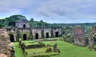 Forte tomado por piratas no século 17 é destaque no Panamá
