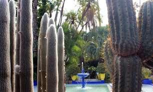 Jardim com restos mortais de Yves Saint Laurent dá colorido a Marrakech