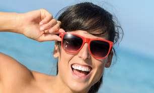 Tamanho e cor da lente não mudam proteção dos óculos de sol