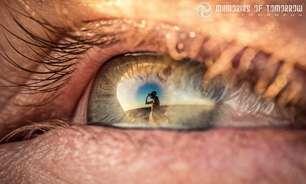 Fotógrafo registra casamento através de reflexos nos olhos