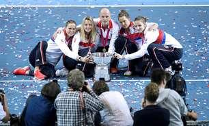 Rep. Checa bate França, é campeã e amplia domínio na Fed Cup