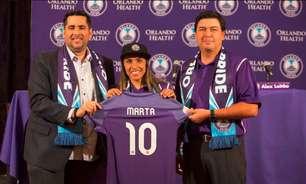 5 vezes melhor do mundo, Marta é apresentada no Orlando