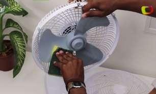 Dê adeus à poeira do ventilador de forma prática
