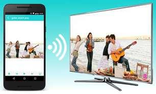 App transforma celular em controle remoto com Chromecast