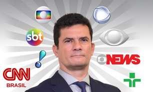 Coletiva bombástica de Moro impulsiona audiência dos canais