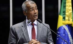 Romário rebate investida de vice da CBF com ameaça de CPI