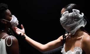 SPFW: Com balé e máscaras, Apto 03 fala da cegueira e do breu