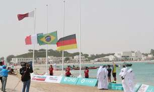 Ana Marcela conquista medalha de ouro em Doha, no Qatar