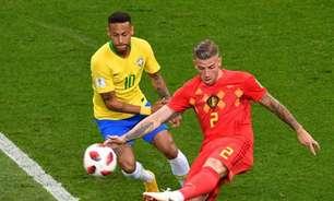 Brasil segue em 3º no ranking da Fifa; Bélgica lidera