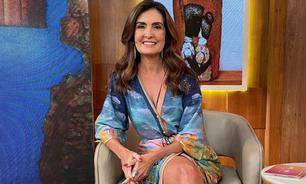 Fátima Bernardes usa look com estampa da Amazônia de R$ 549