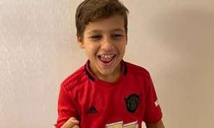 Entre o 'joystick' e as chuteiras: carioca de 9 anos larga o FIFA para focar na carreira de jogador de futebol