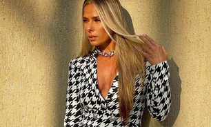 Adriane Galisteu prova ar fashion do P&B no 'Power Couple'