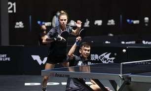Brasileiros mostram confiança para Pré-Olímpico de duplas mistas do tênis de mesa