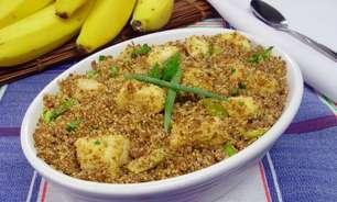 Farofa de carne moída com banana: saborosa opção para o jantar