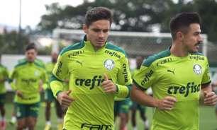 Com Gabriel Menino e Veiga de volta, Palmeiras faz último treino no Brasil antes da Libertadores