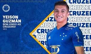 Cruzeiro e Felipe Conceição trabalham para 'blindar' Yeison Guzmán e dar tempo a ele para se adaptar ao clube