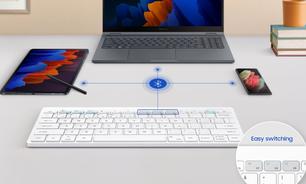 Samsung Keyboard Trio 500 é um teclado sem fio com DeX embutido