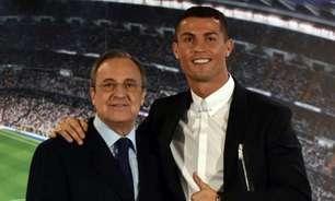 Presidente do Real Madrid, Florentino Pérez nega retorno de Cristiano Ronaldo: 'Não voltará'