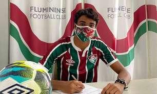Com multa de R$ 334 milhões, Luis Fernando assina primeiro contrato profissional com o Fluminense