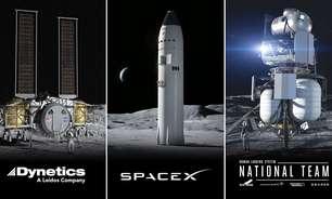 SpaceX ganha concorrência para pousar astronautas na Lua, mas não vai levar
