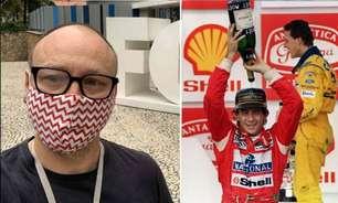 Fã-clube de Senna propõe boicote a livro de Flavio Gomes, que rebate: 'Tão ridículo quanto a devoção deles'