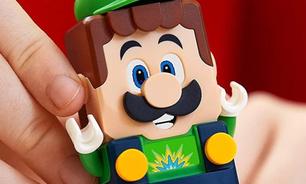 Lego Super Mario ganha expansão com Luigi