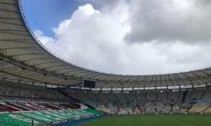 Com mosaico e bandeiras, torcida do Fluminense deixa o Maracanã pronto para a estreia na Libertadores