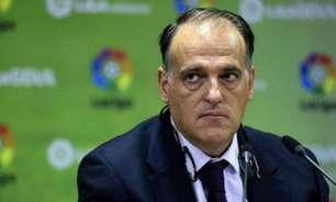 'Florentino Pérez é um desastre como presidente', diz chefe da La Liga