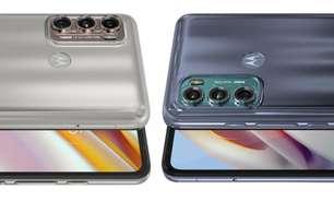 Moto G60 e Moto G40 Fusion têm câmera tripla de até 108 MP e tela de 120 Hz