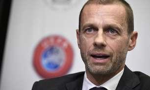 Presidente da Uefa celebra recuo do Manchester City à Superliga: 'Satisfeito por recebê-los de volta'