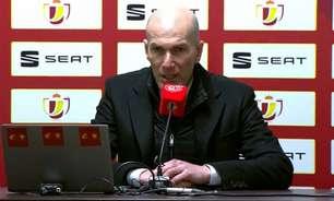 Zidane não comenta sobre Superliga ao ser perguntado em coletiva