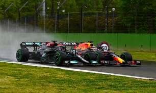 """Ralf Schumacher diz que Verstappen e Hamilton foram """"notáveis"""" no GP da Emília-Romanha"""