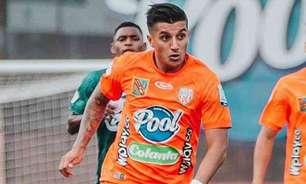 Anunciado como reforço, meia Yeison Guzmán, de 23 anos, pode desistir de jogar no Cruzeiro
