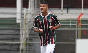 Jefté vibra com a inscrição na Libertadores em primeira temporada no profissional do Fluminense