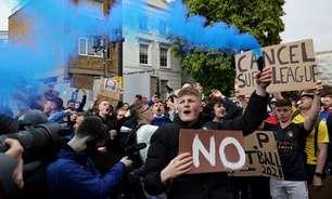 Primeiro-ministro britânico, Boris Johnson apoia decisão de Chelsea e City de deixar a Superliga Europeia