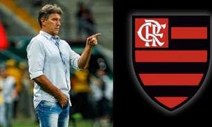 Jornalista aponta Flamengo como principal desejo de Renato Gaúcho: 'a prioridade é o Flamengo'
