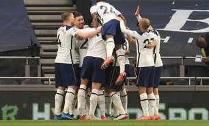 Tottenham vence o Southampton de virada pelo Inglês