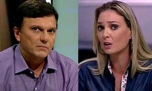 Nadine e Mauro Cezar já bateram boca nas redes e podem dividir cabine no SBT: 'Erravam no campo e na TV'