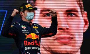 """Verstappen admite surpresa com largada impecável em corrida """"estressante"""" em Ímola"""