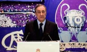Em entrevista, Florentino Pérez fala da Superliga: 'Continua a existir, mas projeto está de stand by'