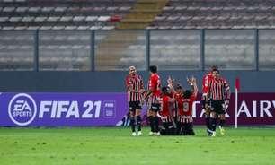 São Paulo quebra tabu após vitória contra o Sporting Cristal, no Peru