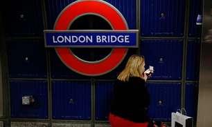 Estação London Bridge é esvaziada em Londres