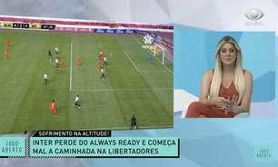 Renata Fan não aprova estreia do Internacional na Libertadores: 'Ridículo'