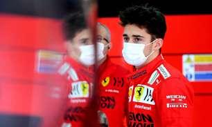 """Leclerc acredita em disputa """"bem apertada"""" entre Ferrari e McLaren em 2021"""