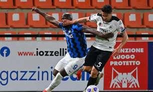 Spezia monta forte bloqueio defensivo, e líder Inter de Milão empata pelo Italiano
