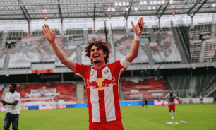 Brasileiro do Salzburg afirma ao L! ser contra a Superliga: 'Elitizar é ir no caminho contrário do futebol'