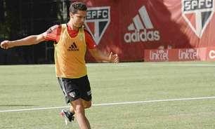Com dupla perto do retorno, São Paulo pode ganhar mais opções